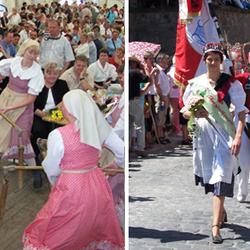Brauchtum und Volkskunst beim schönen Harzfest