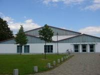 Gebäude im Harslebener Gewerbegebiet
