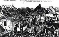 ausgebrannt Häuser